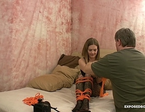 StarNine-BOND-Pantyhose-Model-Groped-EB